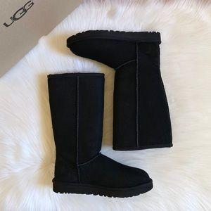 UGG Black Classic Tall II Boots